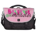 Crea en milagros bolsas para portatil