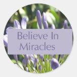 Crea en pegatina de los milagros