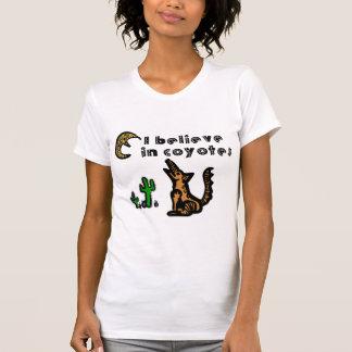 Crea en ropa de los coyotes camisetas