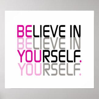 """""""Crea en sí mismo"""" la cita Impresiones"""