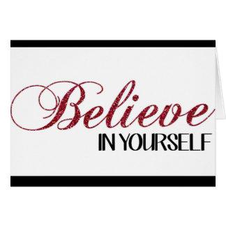 Crea en sí mismo la tarjeta de felicitación de la