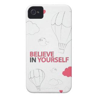 Crea en sí mismo la tipografía y el ejemplo Case-Mate iPhone 4 cobertura
