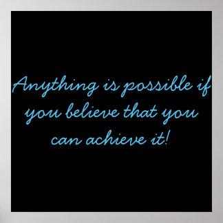 ¡Crea en sí mismo! Póster