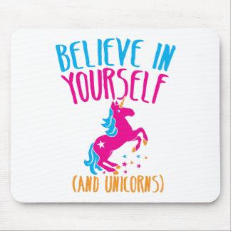 Crea en sí mismo (y unicornios) tapete de raton