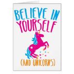 Crea en sí mismo (y unicornios) tarjetón
