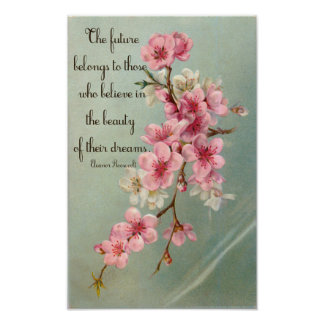 Crea en su poster de Eleanor Roosevelt de los sueñ
