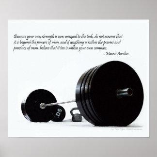 Crea en su propia fuerza póster