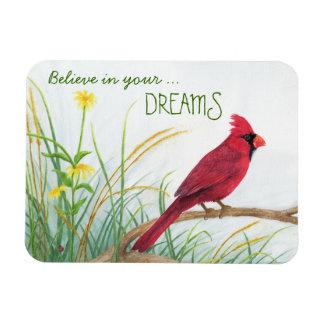 Crea en su sueño - imán cardinal