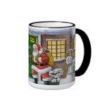 Crea en taza de café de Santa