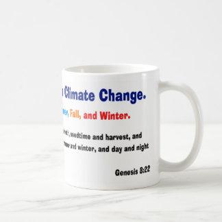 Crea en taza del cambio de clima