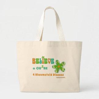 Crea en una curación para el #rheum bolsa tela grande