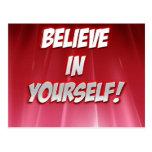 Crea en Yourself-products. Postales