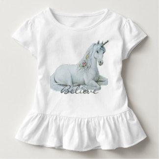 Crea la camiseta de los niños del unicornio playeras