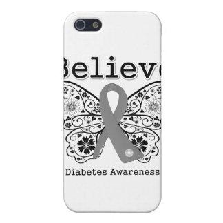 Crea la conciencia de la diabetes iPhone 5 fundas