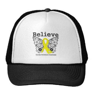 Crea la conciencia de la prevención del suicidio gorras de camionero