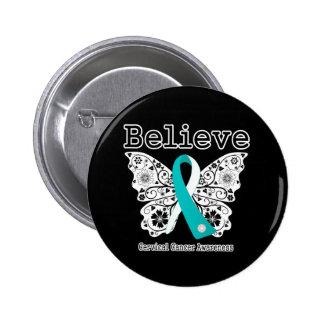 Crea - la mariposa del cáncer de cuello del útero pins