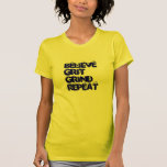 Crea la repetición de la rutina de la arena camisetas