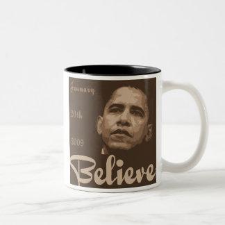 Crea la taza de la inauguración de Obama