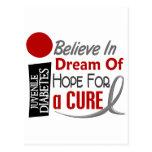 CREA las camisetas IDEALES de la diabetes juvenil  Postal
