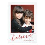 Crea las tarjetas de la foto del día de fiesta el invitación 12,7 x 17,8 cm
