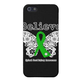 Crea lesión de la médula espinal iPhone 5 carcasa