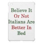 Crea que o no los italianos es mejores en cama
