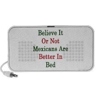 Crea que o no los mexicanos es mejores en cama mini altavoces