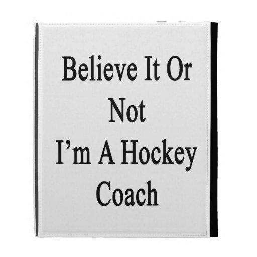 Crea que o no yo es coche de hockey