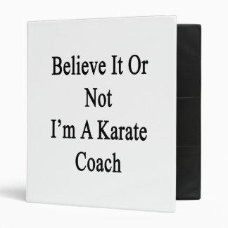Crea que o no yo es un coche del karate