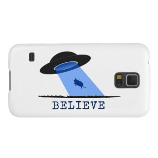 Crea (UFO que emite encima de vaca) Funda Para Galaxy S5