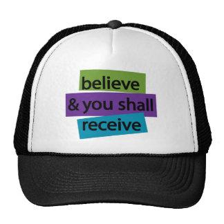 Crea y usted recibirá II Gorras De Camionero