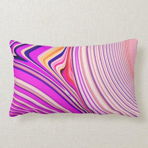 Creación abstracta almohada
