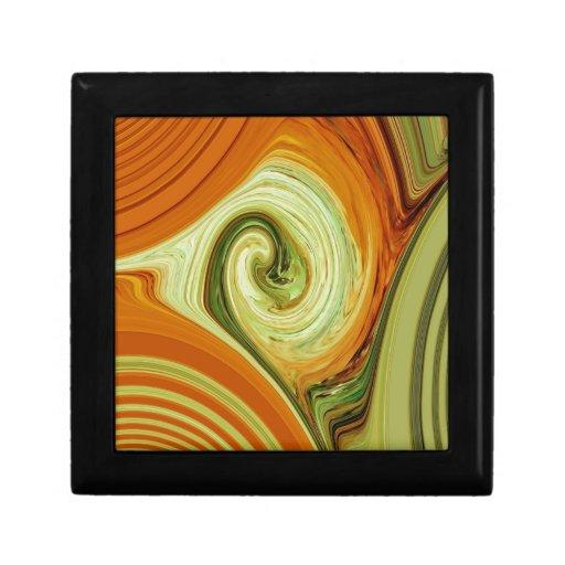 Creación abstracta caja de recuerdo