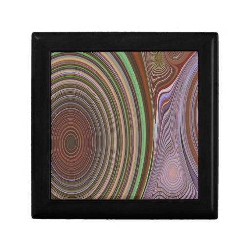 Creación abstracta caja de regalo