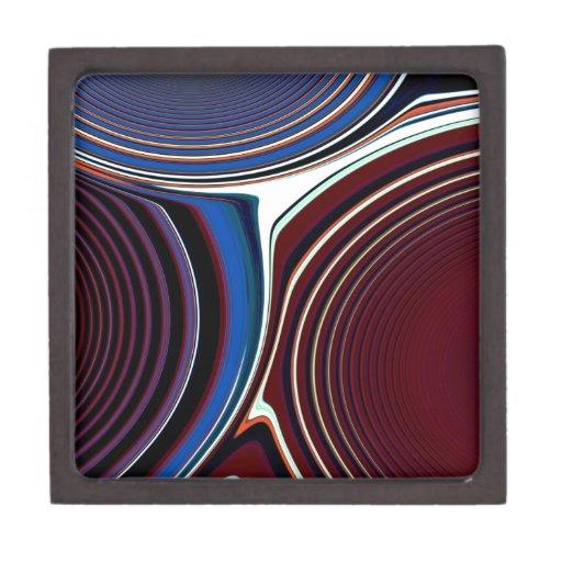Creación abstracta cajas de recuerdo de calidad
