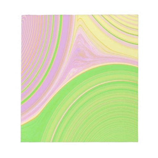 Creación abstracta libretas para notas