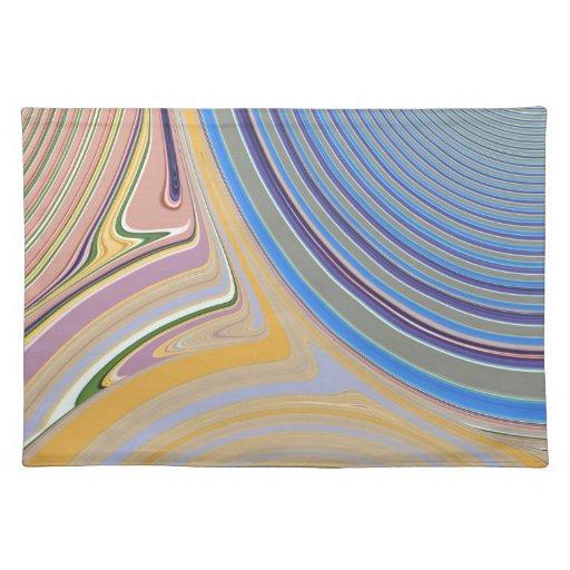 Creación abstracta manteles