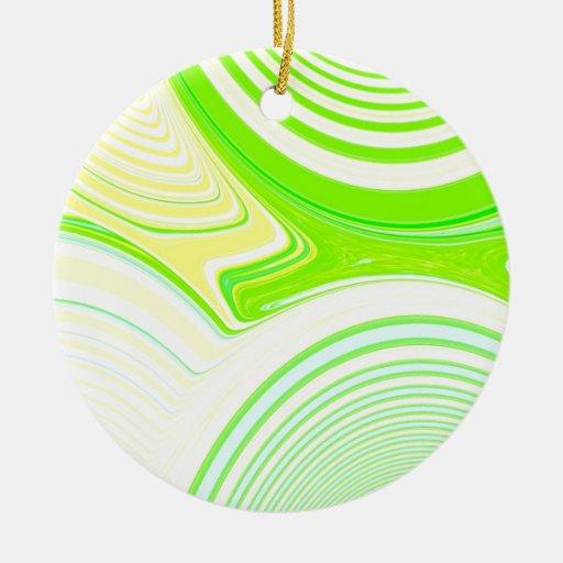 Creación abstracta ornaments para arbol de navidad