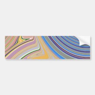 Creación abstracta pegatina para auto