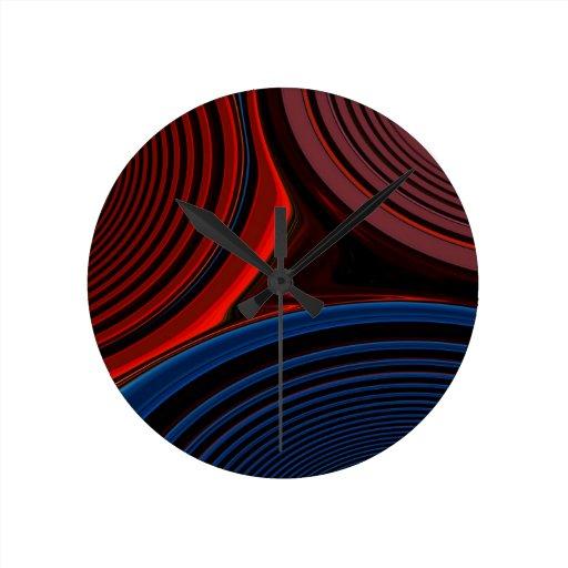 Creación abstracta reloj de pared