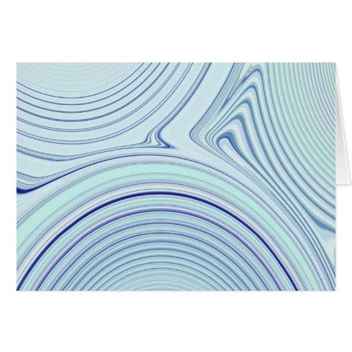 Creación abstracta tarjeta de felicitación