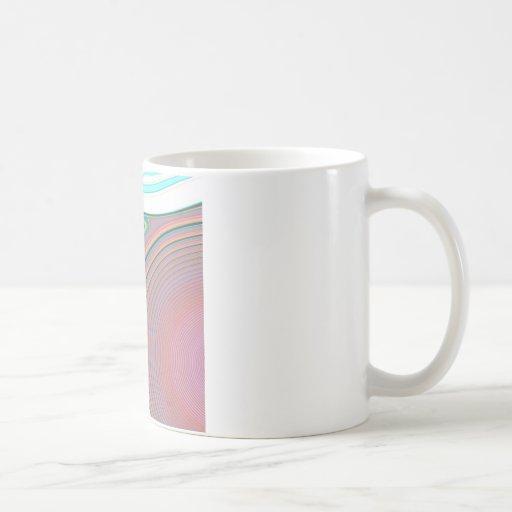 Creación abstracta taza de café