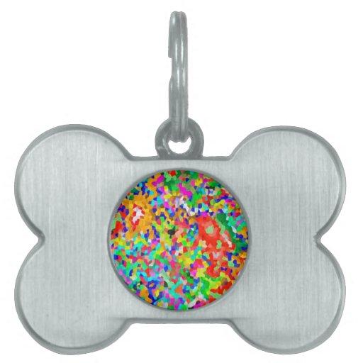 Creación ARTÍSTICA de ColorMANIA:  REGALOS baratos Placas De Nombre De Mascota