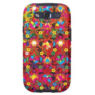 """Creación colorida """"Acanthus """" del modelo Galaxy S3 Carcasa"""