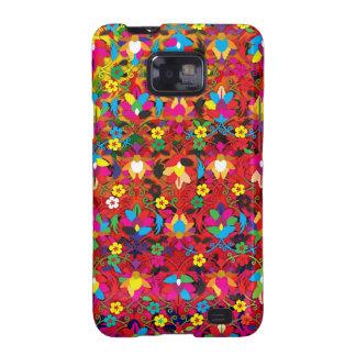 """Creación colorida """"Acanthus """" del modelo Samsung Galaxy S2 Funda"""