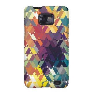 "Creación colorida ""Boreads "" del modelo Samsung Galaxy S2 Funda"
