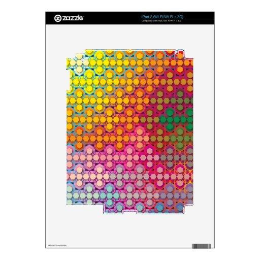 """Creación colorida del modelo """"mi Madrid """" Skins Para iPad 2"""