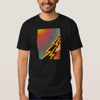 """Creación colorida """"flash Gordon """" del modelo Poleras"""