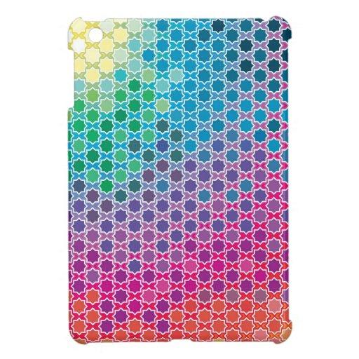 """Creación colorida """"luz de las estrellas """" del mode iPad mini carcasas"""
