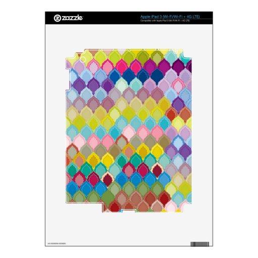 """Creación colorida """"Oriental """" del modelo iPad 3 Skins"""